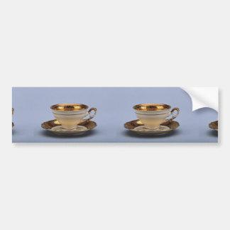 20th century coffee cup and saucer, Jaworzyna Sl., Bumper Sticker