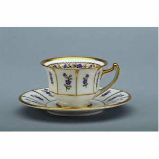 20th century coffee cup and saucer, Rosenthal, Ger Standing Photo Sculpture