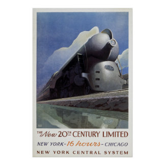 20th Century Limited Poster