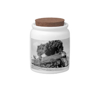 20th Century Limited Train Highball It Vintage Candy Dish