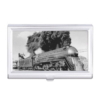 20th Century Limited Train Highball It! Vintage Case For Business Cards