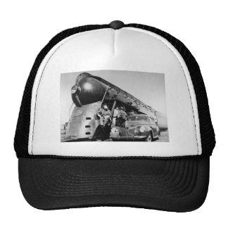 20th Century Limited Vintage New York Central Rail Hats