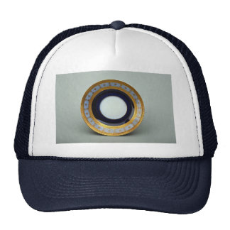 20th century saucer plate with inspiring design trucker hat