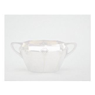20th century silver plated sugar bowl, Canada Custom Letterhead