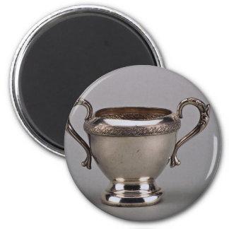 20th century silver plated sugar bowl, Canada Refrigerator Magnet