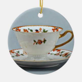 20th century tea cup and saucer, Bavaria, Germany Ornament