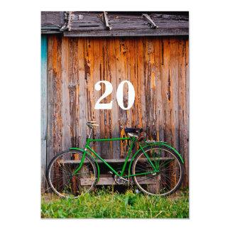 20th Cyclist Birthday Celebration Invitation