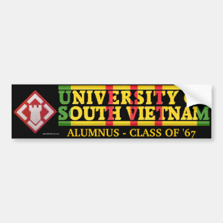 20th Engineer Bde - U of S Vietnam Alumnus Sticker