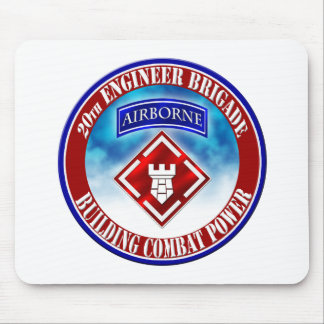 20th Engineer Brigade 001 Mouse Pad