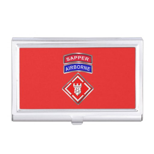 20th Engineer Brigade-Airborne Sapper Business Card Case