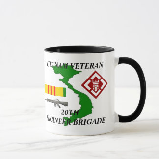 20th Engineer Brigade Vietnam Veteran Coffee Mugs
