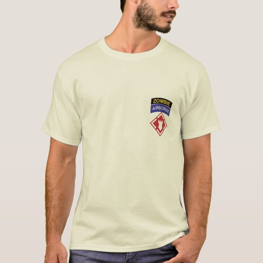 20th Engineer Brigade ZOMBIE Tab Shirt