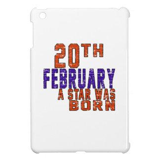 20th February a star was born iPad Mini Cover