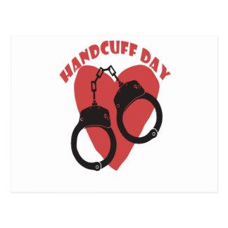 20th February - Handcuff Day - Appreciation Day Postcard