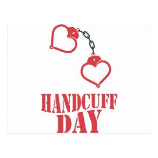 20th February - Handcuff Day Postcard