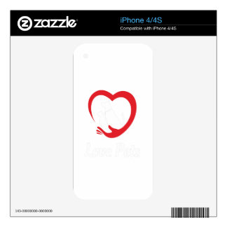 20th February - Love Your Pet Day iPhone 4 Skins