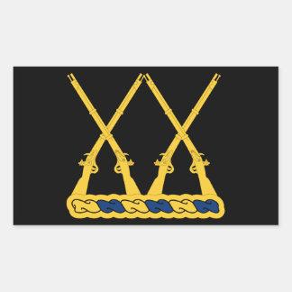 20th Infantry Regiment Rectangular Sticker
