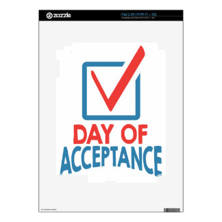 20th January - Day of Acceptance iPad 2 Decals