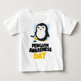 20th January - Penguin Awareness Day Baby T-Shirt