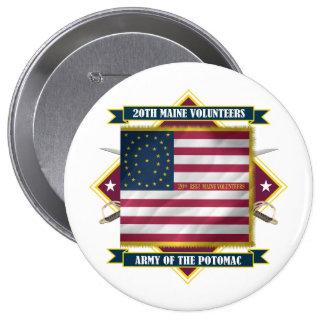 20th Maine Button