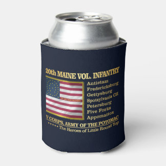 20th Maine Volunteer Infantry (BH) Can Cooler