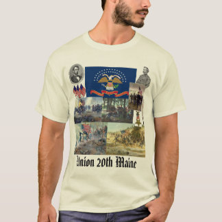 20th Maine volunteer infantry regiment Civil War T-Shirt