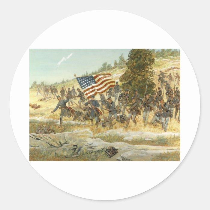 20th maine volunteer infantry regiment classic round sticker