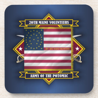 20th Maine Volunteers Coaster