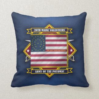 20th Maine Volunteers Pillow