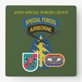 20TH SPECIAL FORCES GROUP CLOCK