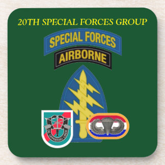 20TH SPECIAL FORCES GROUP COASTERS