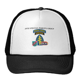 20TH SPECIAL FORCES GROUP HAT