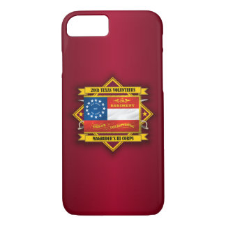 20th Texas Infantry (v5) iPhone 7 Case