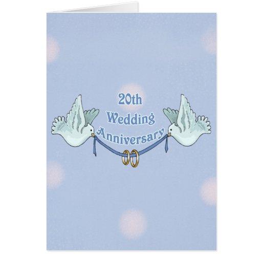 Th wedding anniversary card zazzle