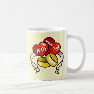 20th Wedding Anniversary Coffee Mug