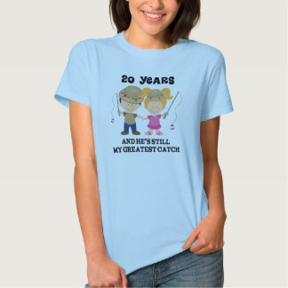20th Wedding Anniversary Gift For Her Tee Shirt
