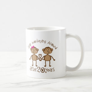 20th Wedding Anniversary Coffee & Travel Mugs | Zazzle