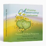 20th Wedding Anniversary Party Guest Book 1.5 inch Binder