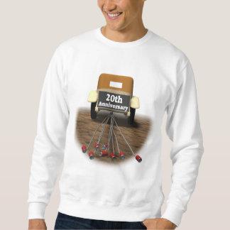 20th Wedding Anniversary Pullover Sweatshirt