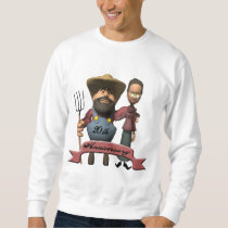 20th Wedding Anniversary Sweatshirt