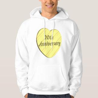 20th Wedding Anniversary Sweatshirts