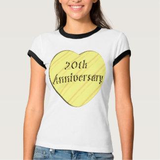 20th Wedding Anniversary Tees