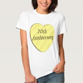 20th Wedding Anniversary Tshirts