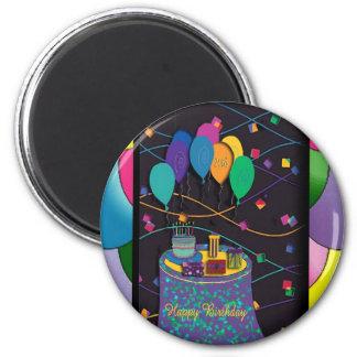 20thsurprisepartyyinvitationballoons copy 2 inch round magnet
