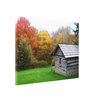 20x14 Canvas - Ferguson Cabin Stretched Canvas Prints