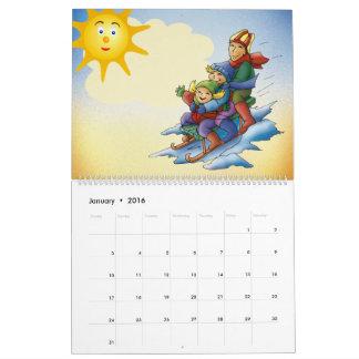 20XX - Colorful Kids Calendar
