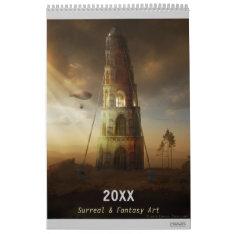 20xx Digital Surreal & Fantasy Art Calendar at Zazzle