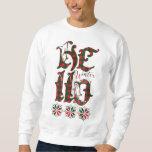 20XX Hello Winter Holiday Scotland Pattern Sweatshirt