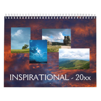 20xx   Inspirational with photos and messages Calendar
