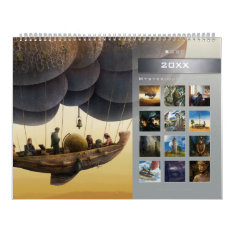 20xx Mysterious Stories (1) - Huge Wall Calendar at Zazzle